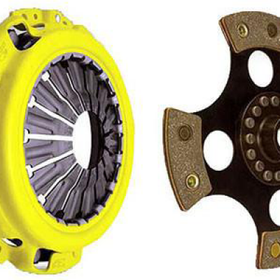 ACT Heavy Duty 4 Puck Solid Disc Clutch Kit Evo X