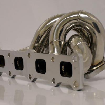 Agency Power Stainless Steel Header (Evo X)