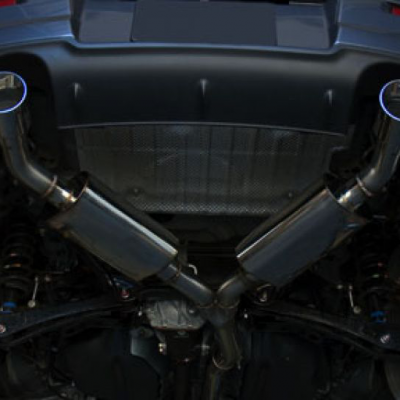 CPE Cat Back Exhaust System for Mitsubishi Ralliart